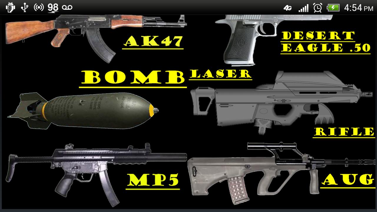 amazon pistola códigos