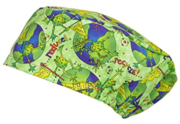 SURGICAL SCRUB CAPS UNISEX - Frog  Amazon.co.uk  Health   Personal Care 5179154c3dc