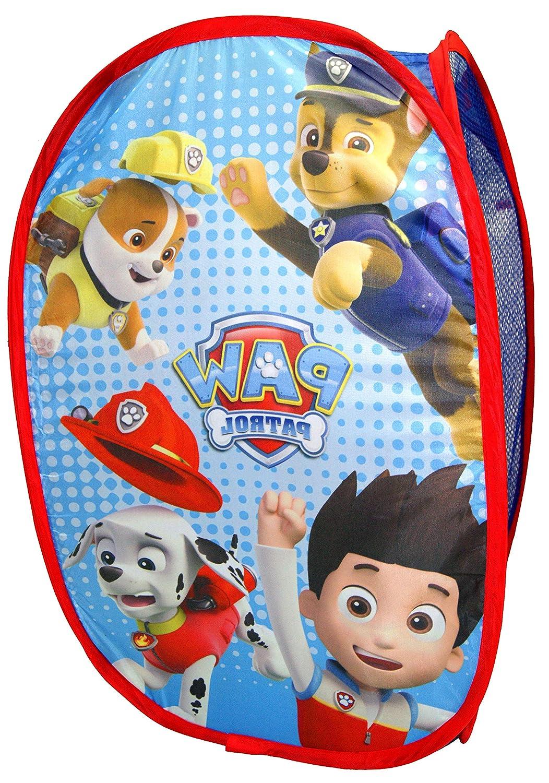 Paw Patrol. Pop Up Laundry Basket,Toys Basket,Official Licensed PJ Masks