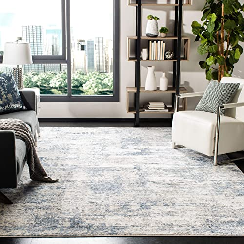 Safavieh Amelia Collection ALA700A Modern Abstract Non-Shedding Stain Resistant Living Room Bedroom Area Rug