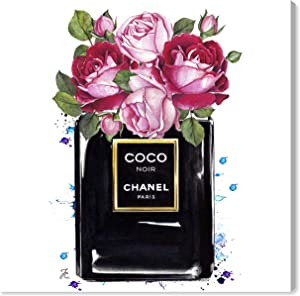 The Oliver Gal Artist Co. Fashion and Glam Wall Art Canvas Prints 'Doll Memories - Coco Roses' Home Décor, 12