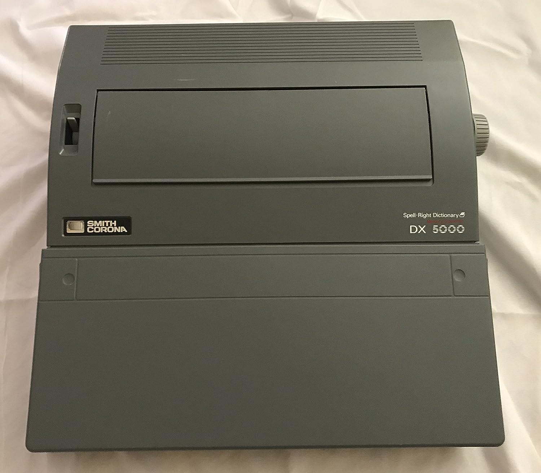 Smith Corona DX 5000 - Máquina de escribir diccionario eléctrico: Amazon.es: Electrónica
