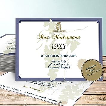 Einladungskarten Zum 80 Geburtstag Selber Machen Auslese 60 Karten Horizontal Einfach 148x105 Inkl Weiße Umschläge Blau