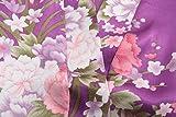 EPLAZA Women Floral Satin Robe Bridal Dressing Gown