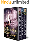 The Billionaire Bear Takes His Mate Box Set: Bad Boy Billionaire Shifter Romance