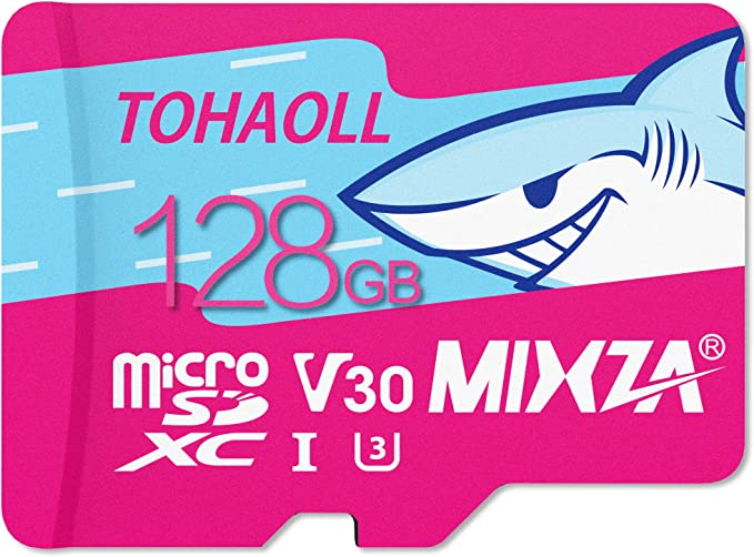 Built for Lifetime of Use! Heat /& Cold Resistant UHS-395MBs MIXZA Performance Grade 128GB Verified for Samsung SM-T113 MicroSDXC Card is Pro-Speed