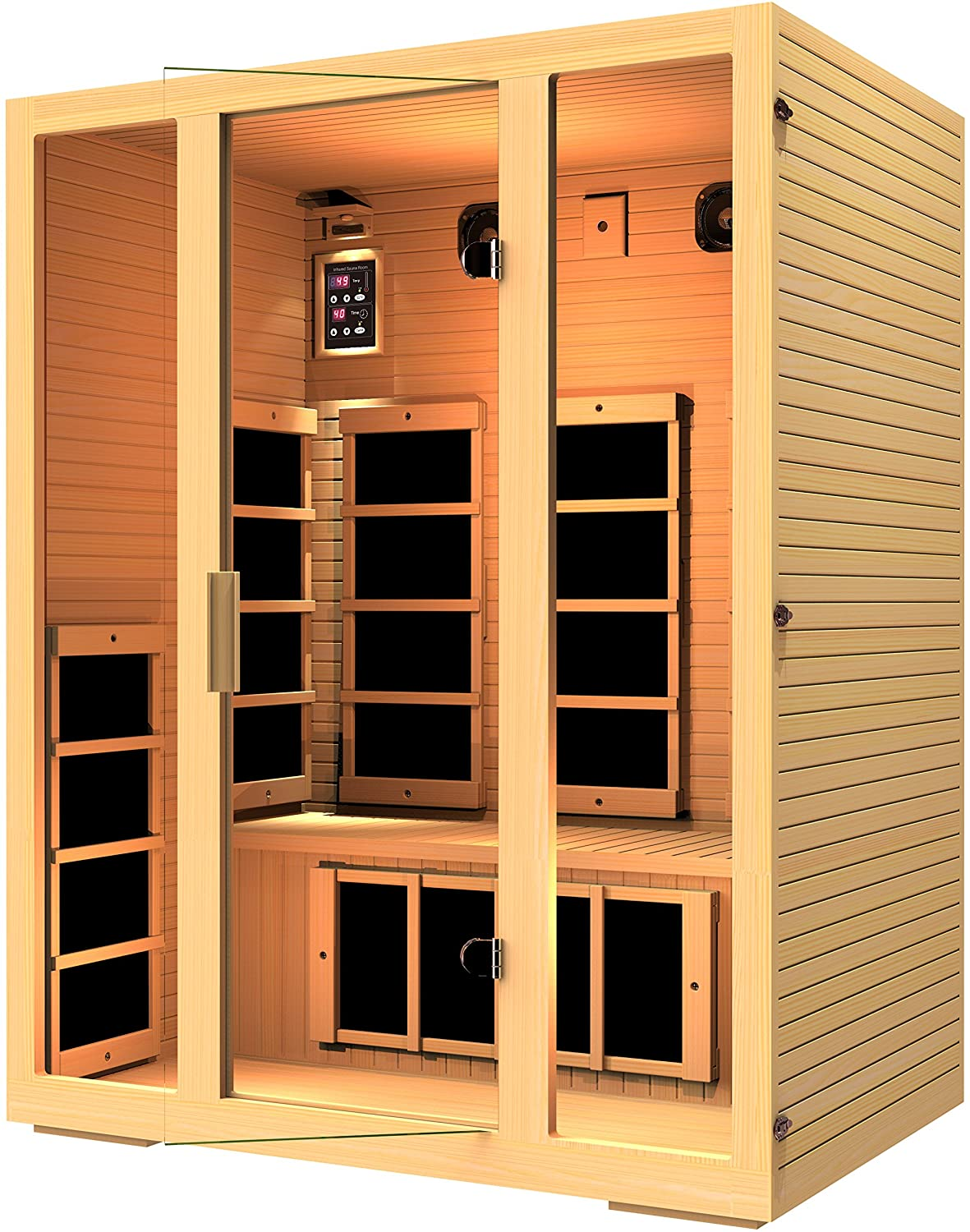 Jnh Lifestyles Mg301hcb Mg317hb Far Infrared Sauna Wiring Diagram Garden Outdoor