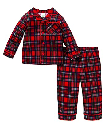 08a255543 Amazon.com  Little Me Baby Boys  Holiday 2 Piece Poly Pajama Set ...