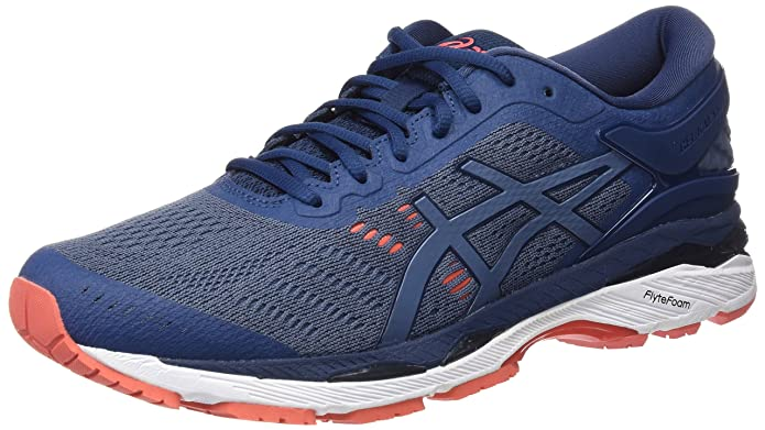 Amazon.com   ASICS Mens Gel-Kayano 24 Running Shoe, 9.5, Blue   Fashion Sneakers