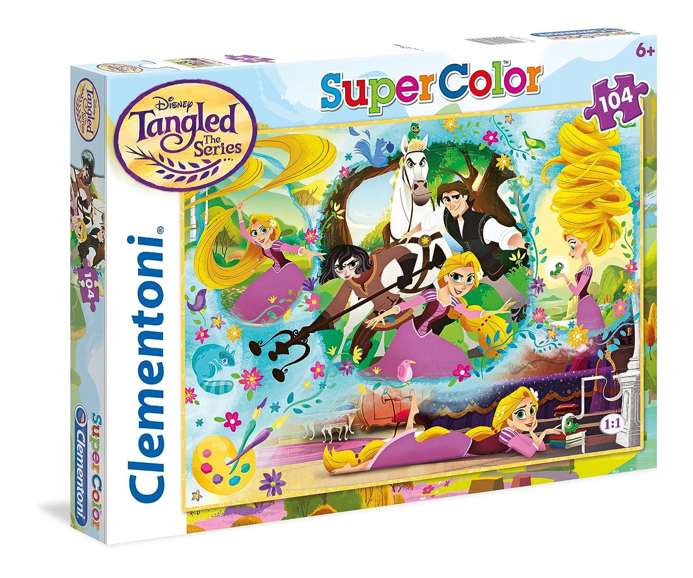 /única 27084 Clementoni Puzzle Rapunzel