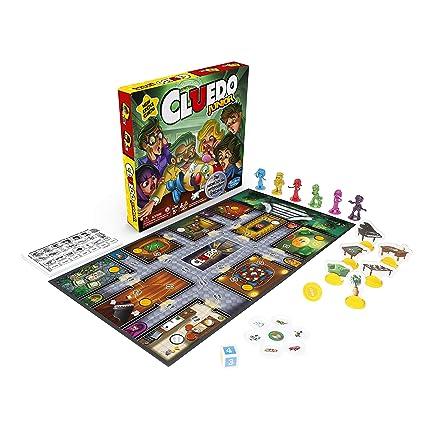 Cluedo Junior, Juego de Detectives clásico, a Partir de 5 años: Amazon.es: Juguetes y juegos