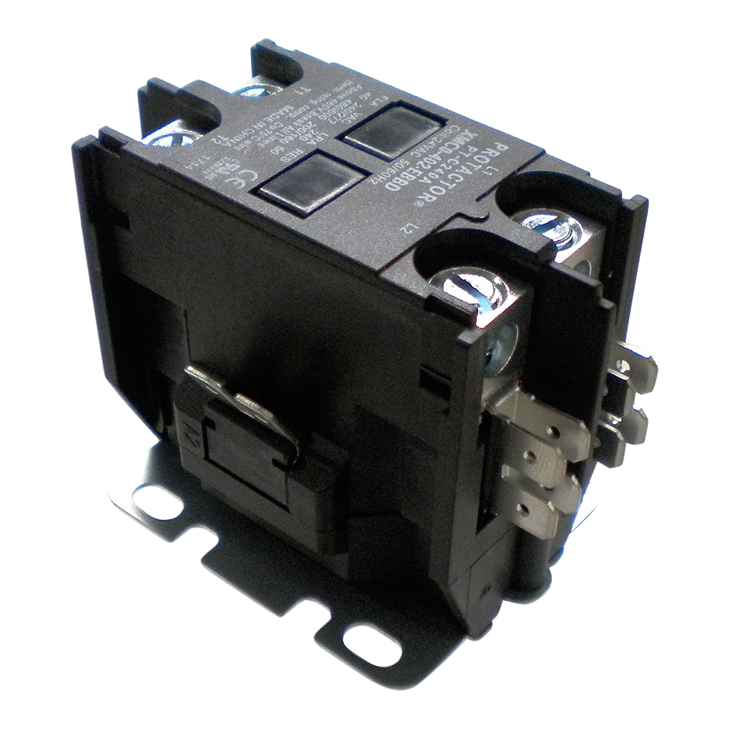 Protactor 2 Pole 40 Amp Heavy Duty Ac Contactor Replaces Virtually Carrier Wiring Diagram All Residential Models
