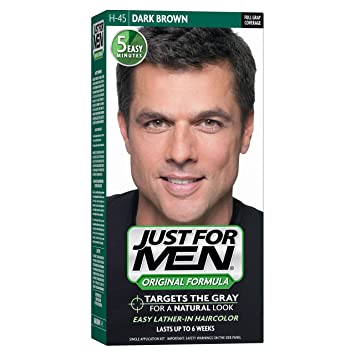Amazon.com: Just For Men Original Formula Men\'s Hair Color, Dark ...