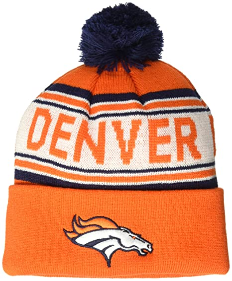 5500d5b2 Amazon.com: NFL Boys Toddler Cuffed Knit with Pom Hat: Clothing