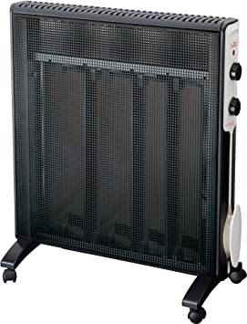 Jata RD232N Radiador Micathermic con 4 Placas, 2000 W, Negro