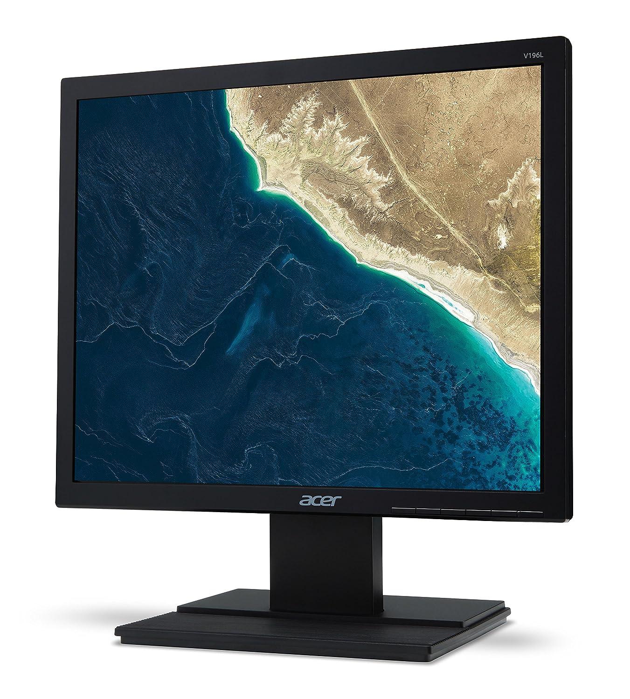 Monitor , 250 cd // m/², 1280 x 1024 Pixeles, 6 ms, LED, HD 48,3 cm 19 Acer V6 V196LB 19 HD IPS Negro pantalla para PC