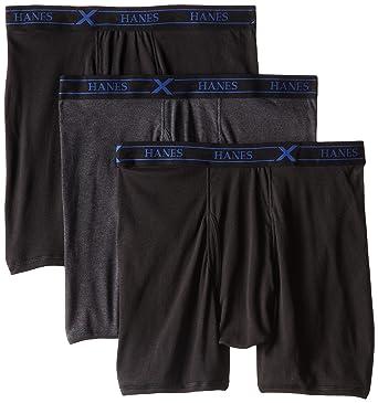 e0b6899742 Hanes Ultimate Men s 3-Pack X-Temp Boxer Briefs at Amazon Men s ...