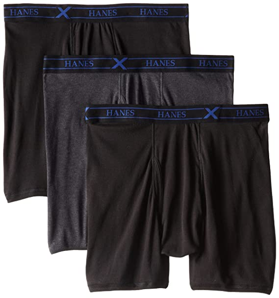 f8f90b064b8f Hanes Ultimate Men's 3-Pack X-Temp Boxer Briefs at Amazon Men's Clothing  store: