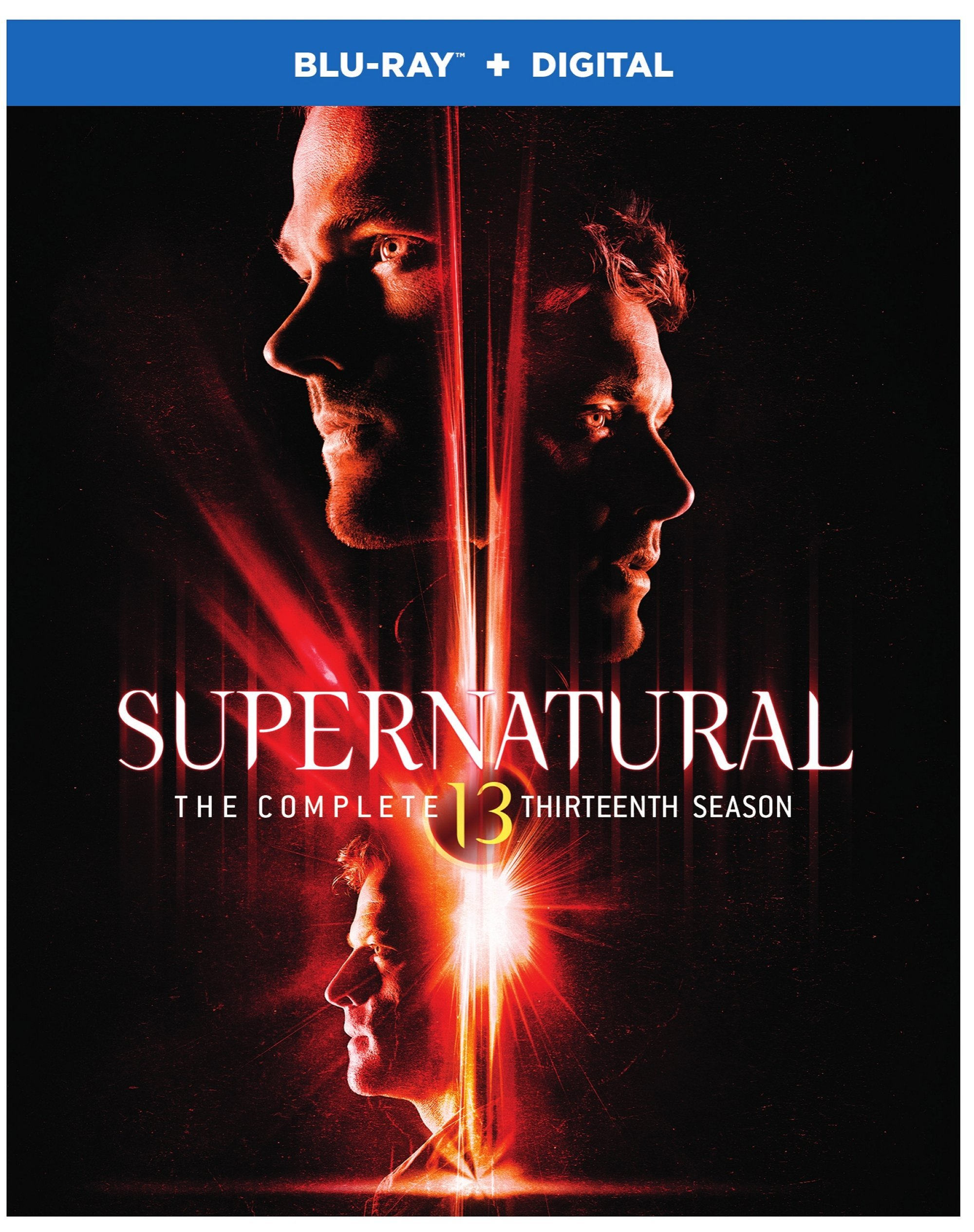 Blu-ray : Supernatural: The Complete Thirteenth Season (Boxed Set, Dubbed, Dolby, AC-3, Digital Copy)