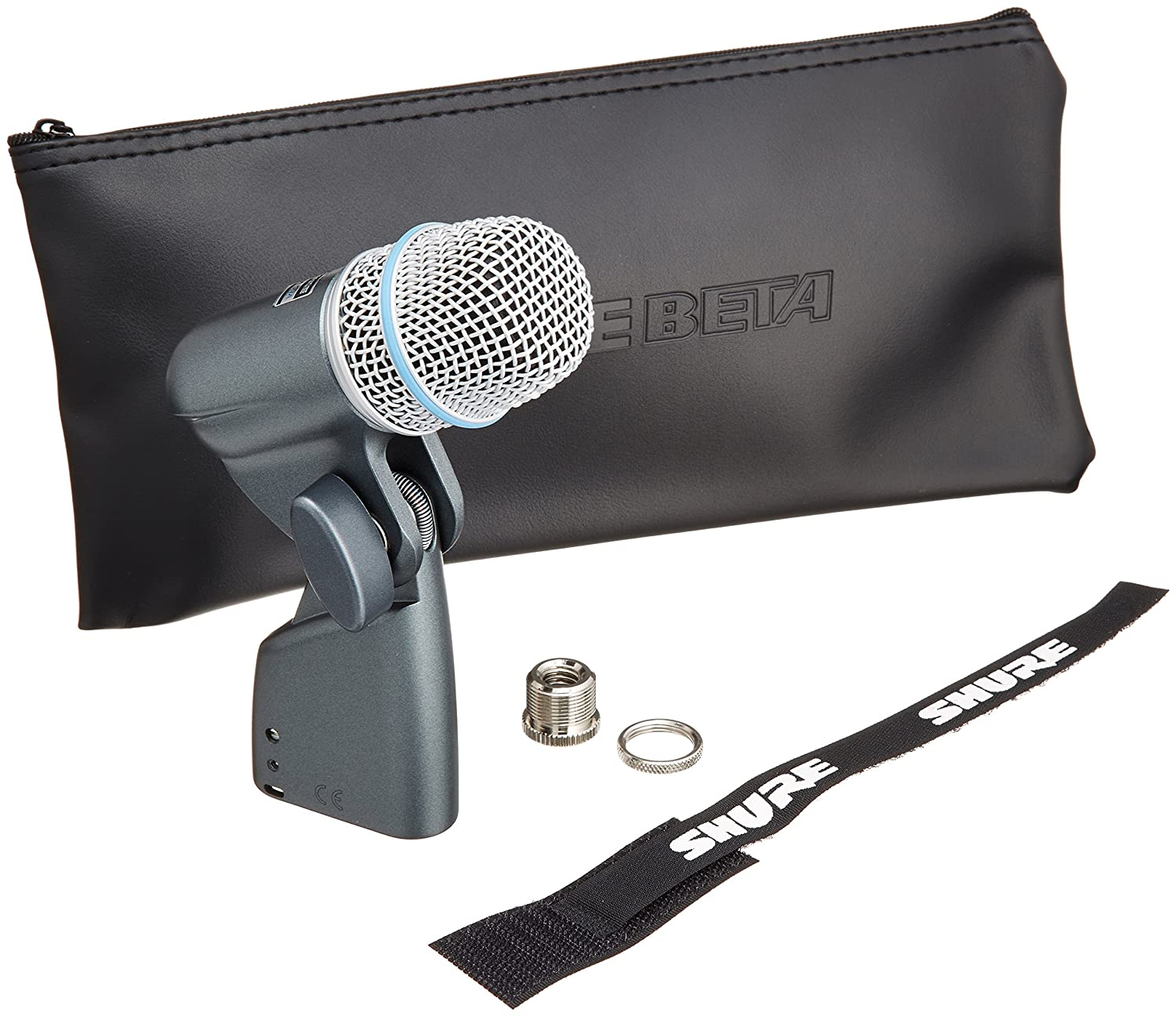 Shure BETA 56A Supercardioid Swivel-Mount Dynamic Microphone with High Output Neodymium Element for Vocal/Instrument Applications Shure Incorporated