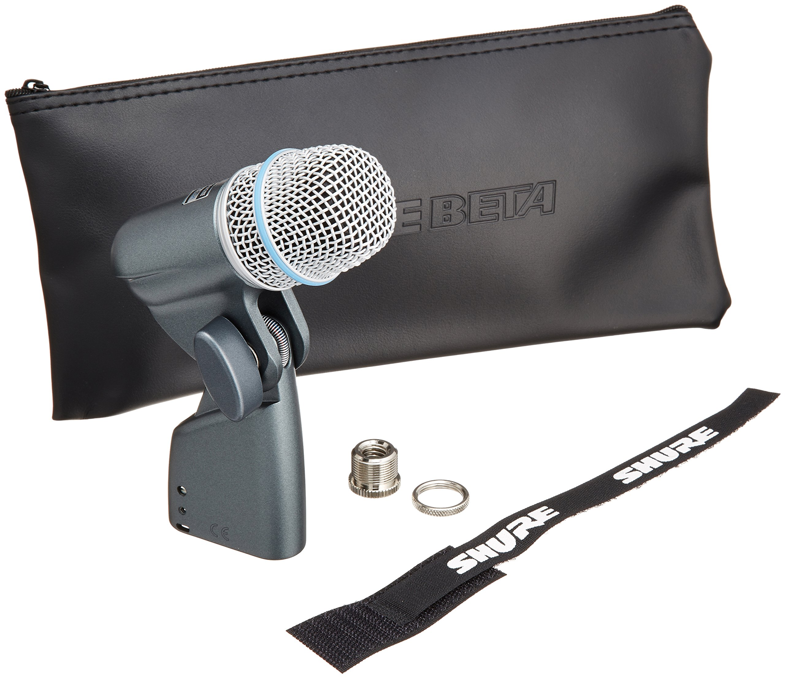 Shure BETA 56A Supercardioid Swivel-Mount Dynamic Microphone with High Output Neodymium Element for Vocal/Instrument Applications by Shure
