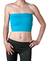 2NE1 Apparel Women's Basic Stretch Layer Seamless Tube Bra Bandeau Top