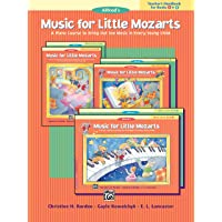 Image for Music for Little Mozarts Teacher's Handbook, Bk 1 & 2: A Piano Course to Bring Out the Music in Every Young Child