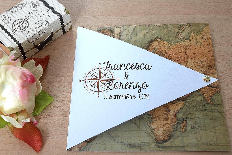 Partecipazioni Matrimonio Viaggio.Partecipazioni Matrimonio Personalizzate Inviti Nozze Tema