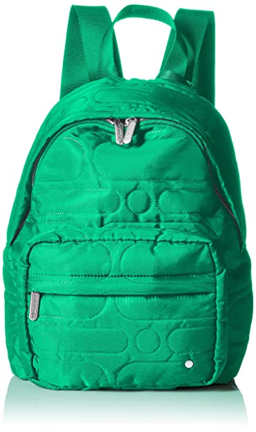 LeSportsac Women's City Piccadilly Backpack, Logo Deboss Mojito