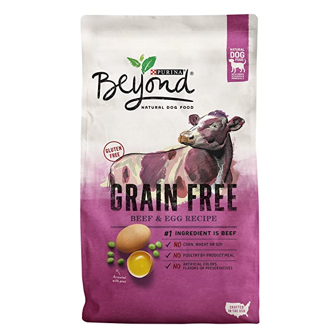 Purina Beyond Grain Free Recipe Adult Dry Dog Food - Best Grain Free Dogfood for Pit bulls