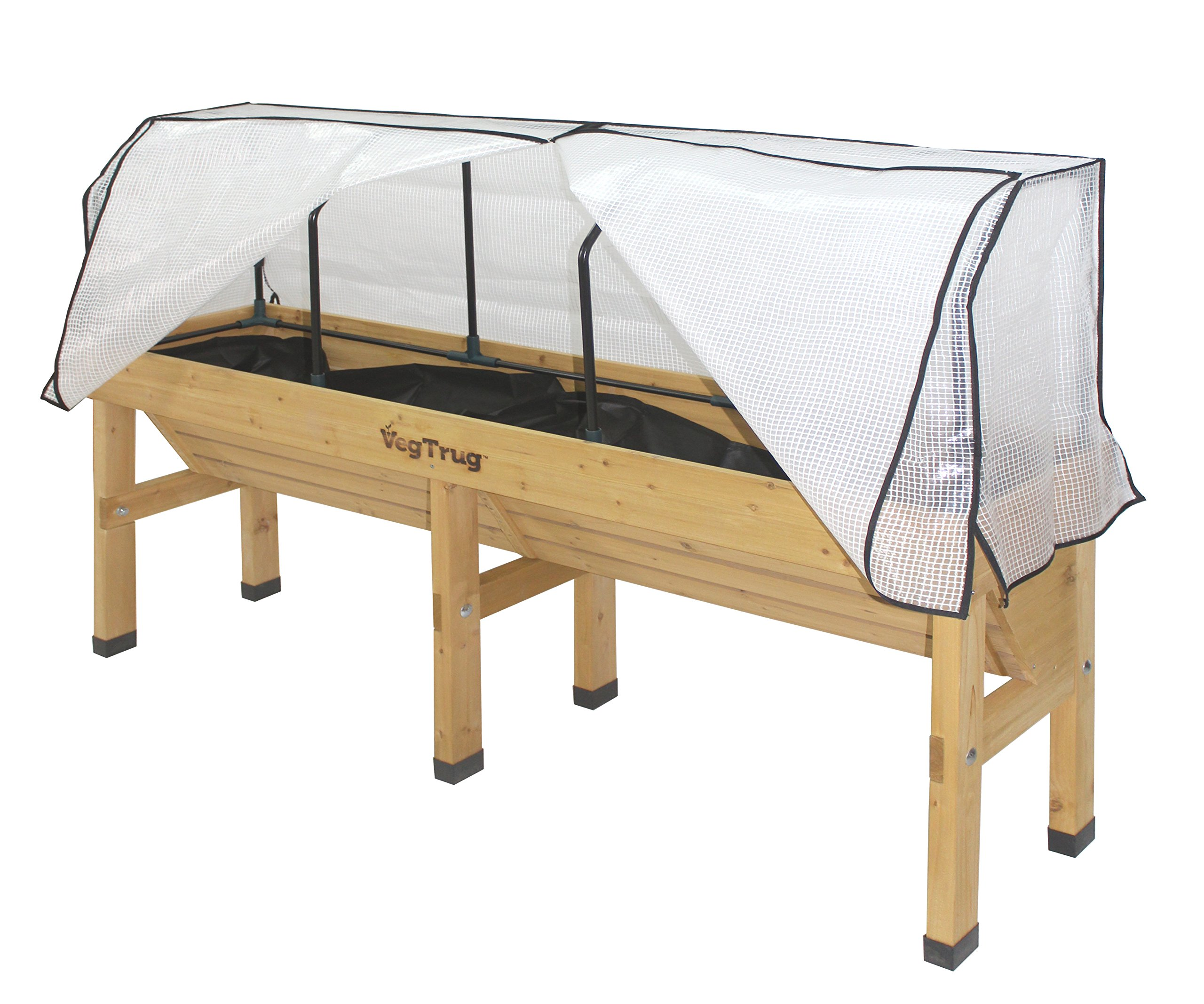 Vegtrug MGFPE1144 USA Medium Greenhouse Frame and PE Cover