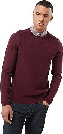 next Hombre Jersey De Cuello Redondo con Camisa Simulada ...