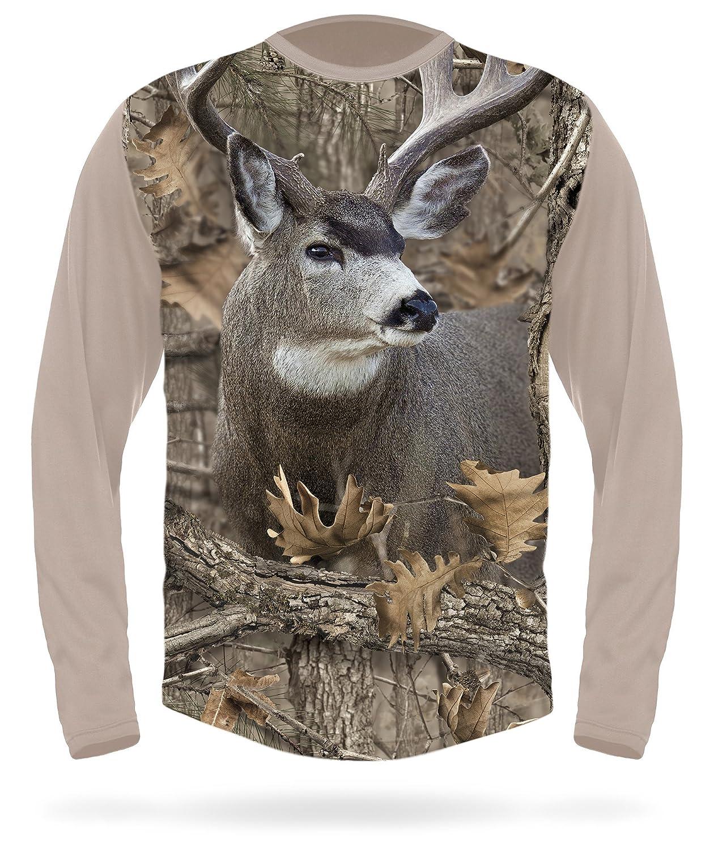 d2a0175b3890 Mule Deer Shirt - Premium 3D T-Shirts with Deers - Men s Camouflage Dear  Gear