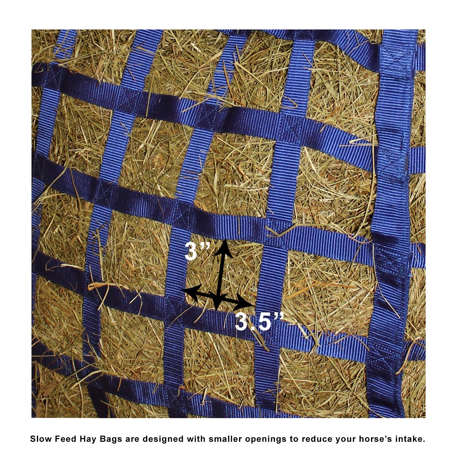 Derby Originals Patented Easy Feed Four Sided Hay Bag with One Year Limited Manufacturer Warranty by Derby Originals (Image #4)
