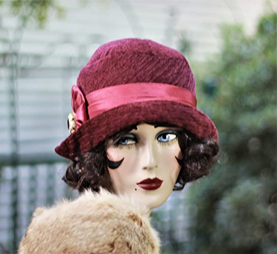 Amazon.com  20s Vintage Style Cloche Hat f04239d46217