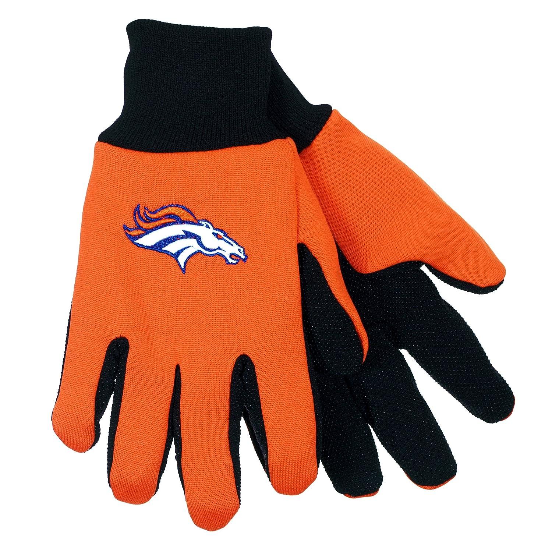 NFL Denver Broncos Sport Utility Gloves by Forever Collectibles B018USLG9C
