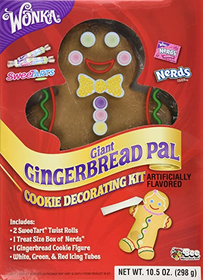 Wonka Giant Gingerbread Pal Cookie Decorating Kit Net Wt 10 50 Oz
