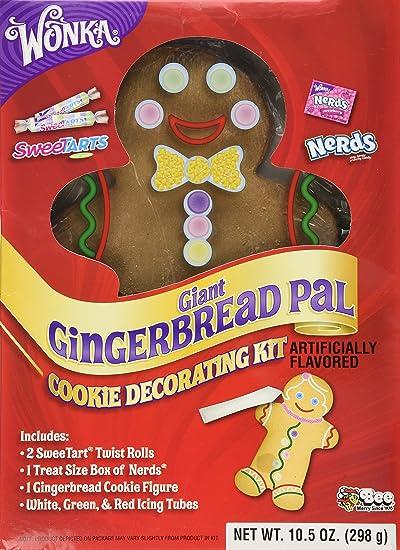 Wonka Giant Gingerbread Pal Cookie Decorating Kit Net Wt 10 50 Oz