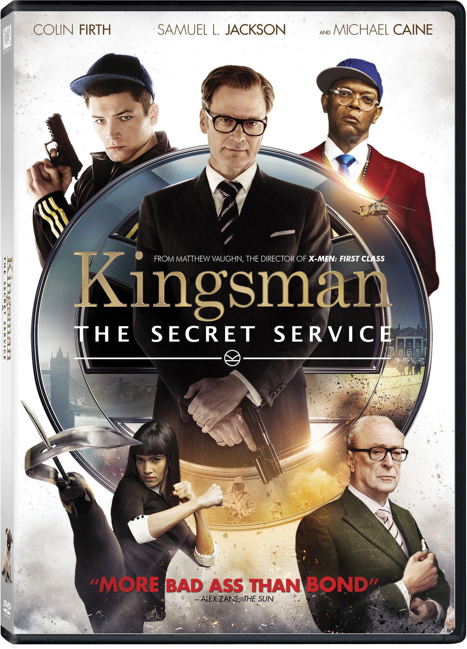 DVD : Kingsman: Secret Service (Widescreen, , Dolby)