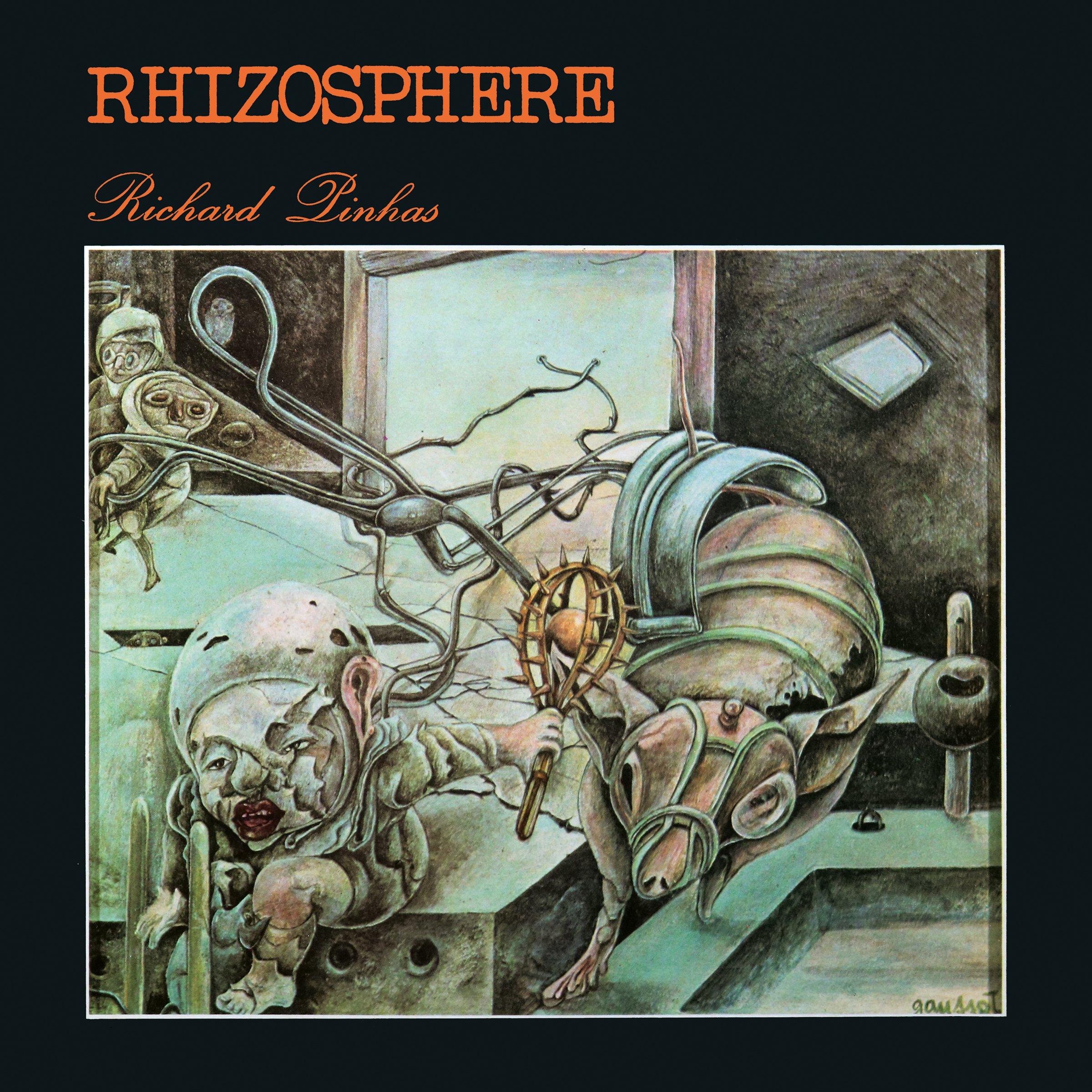 Vinilo : Richard Pinhas - Rhizosphere (LP Vinyl)