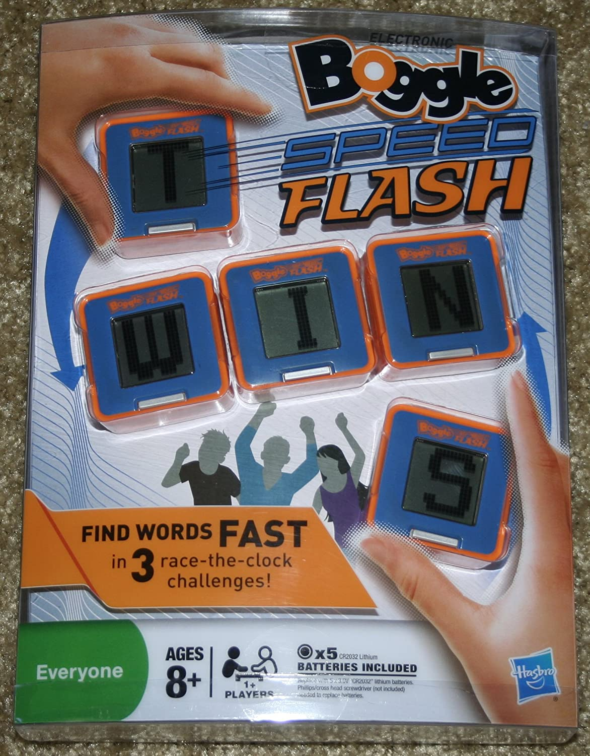 Amazon Electronic Boggle Exclusive Speed Flash Game Toys Games