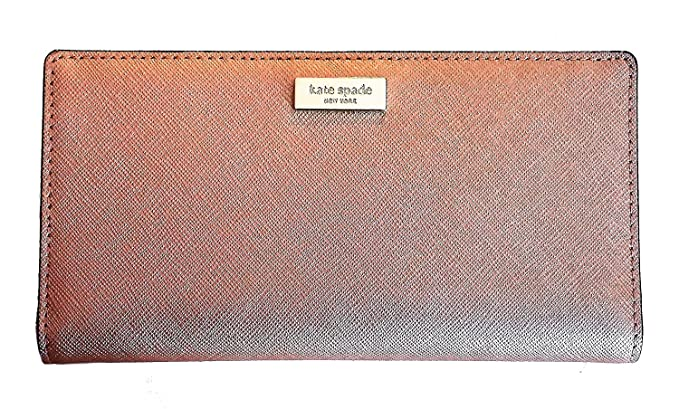 7678012828ab Image Unavailable. Image not available for. Colour  Kate Spade New York  Laurel Way Stacy Saffiano Leather Wallet Rosegold