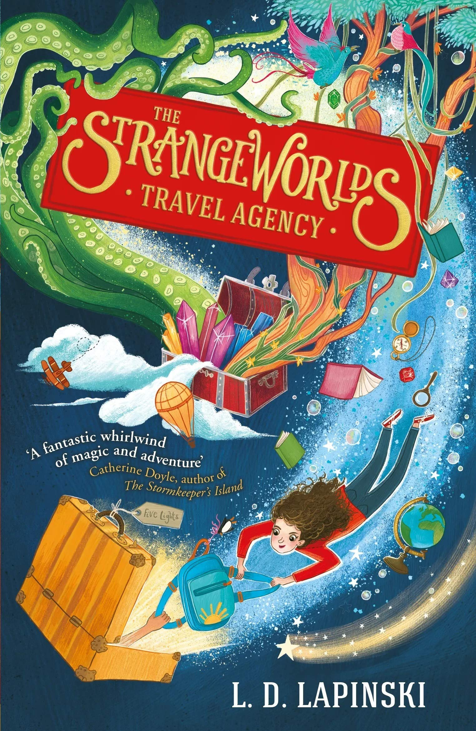 The Strangeworlds Travel Agency Idioma Inglés : Book 1: Amazon.es: Lapinski, L.D.: Libros en idiomas extranjeros