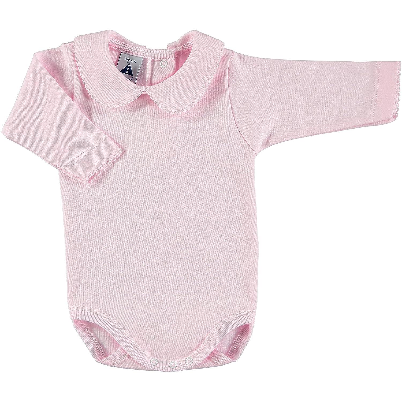 babidu Unisex Baby Body Cuello Algodon