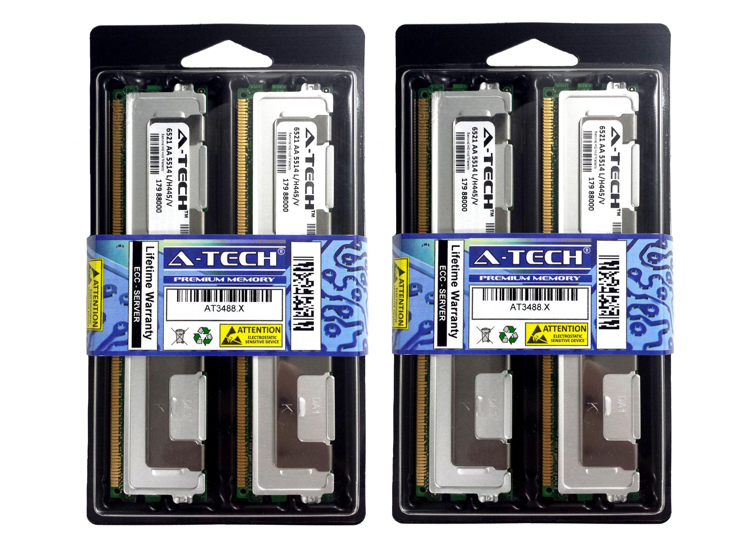 32GB Kit 4x 8GB HP Compaq ProLiant BL20p G4 BL460c G5 BL480c BL680c G5 DL140 G3 DL160 G5 DL180 DL360 DL380 G5 DL580 G5 ML150 G3 ML370 G5 400r xw460c xw6400 xw6600 xw8400 xw8600 Memory Ram