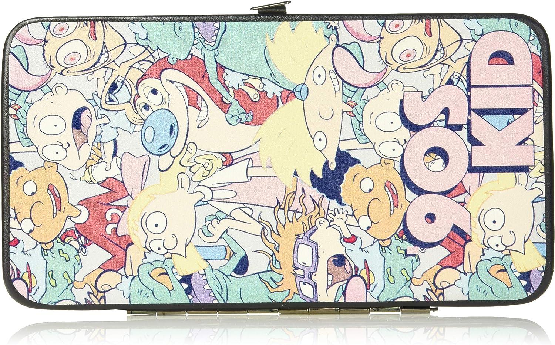Buckle-Down Womens Hinge Wallet SpongeBob SquarePants 7 x 4