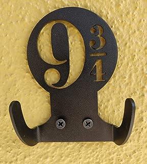 Personalised Harry Potter Hogwarts Style Wheelie Bin House Number Sticker x 4