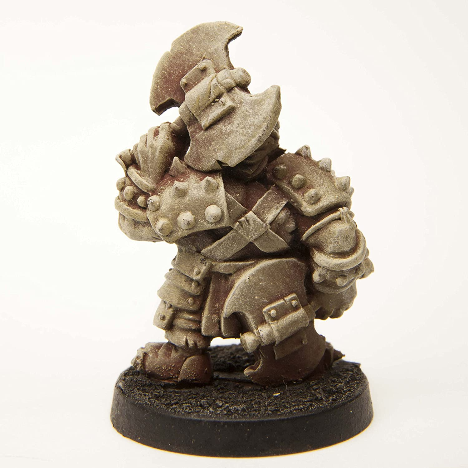 Stonehaven Dwarf Berserker Miniature Figure for 28mm Table top Wargames - Made in USA Stonehaven Miniatures