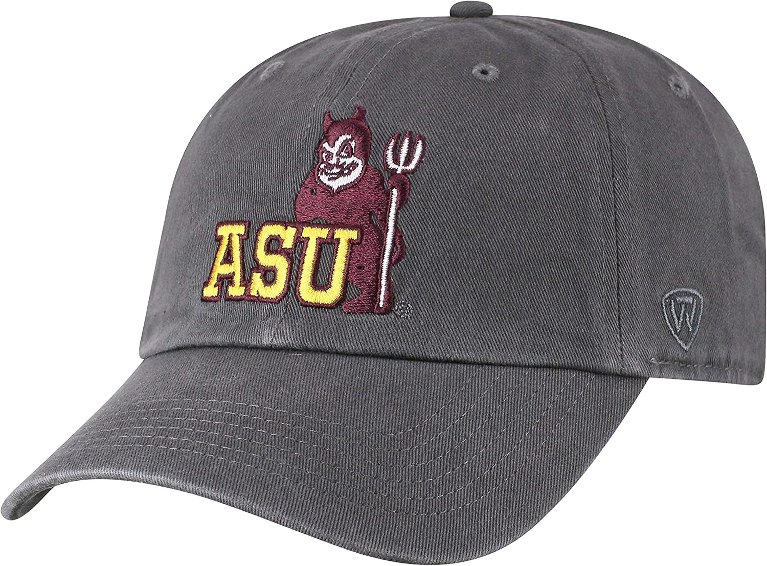 Top of the World NCAA Mens Vintage Hat Adjustable Charcoal Vault Icon