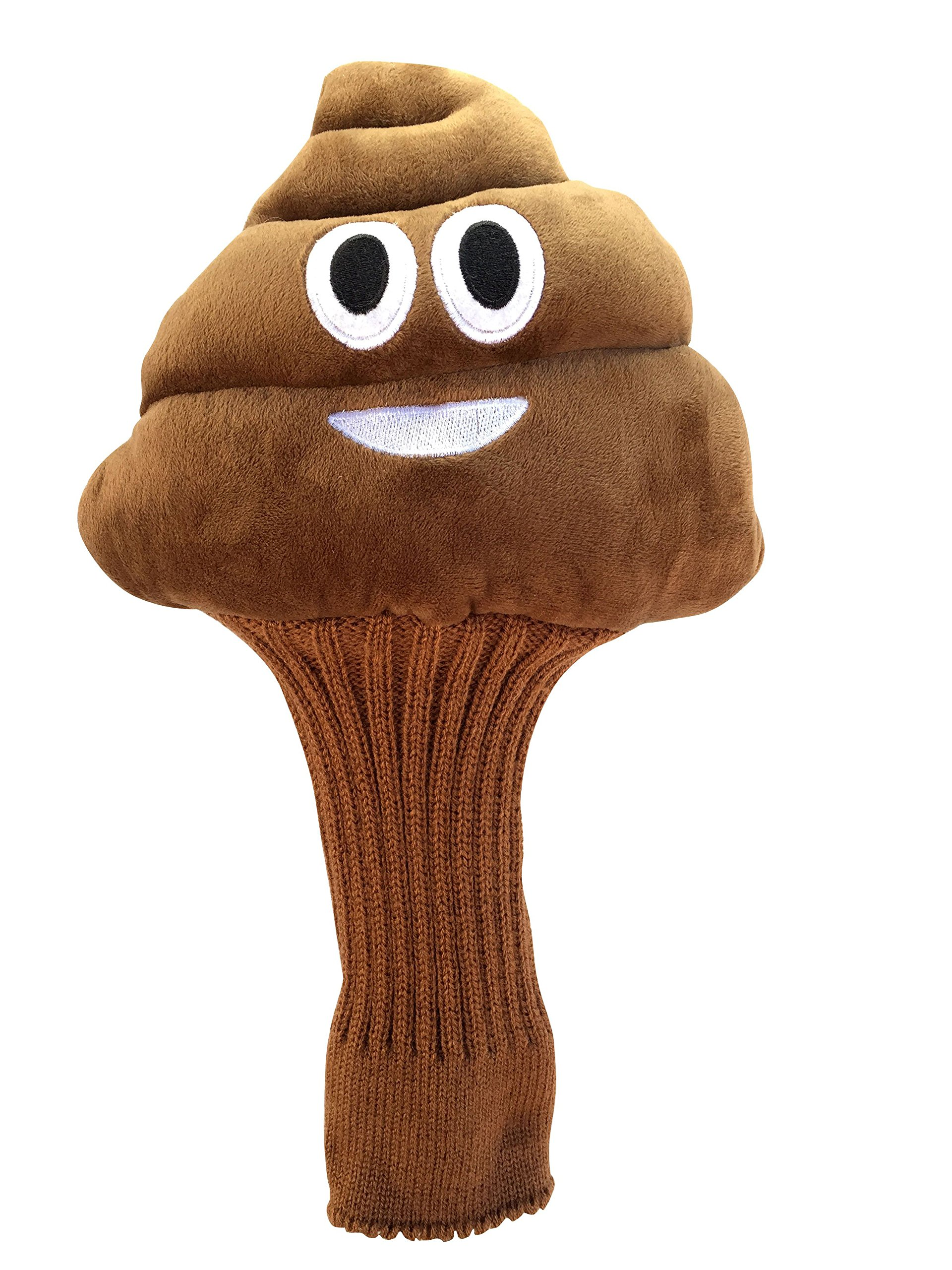 Poopy Golf Head Cover by Golf Giddy